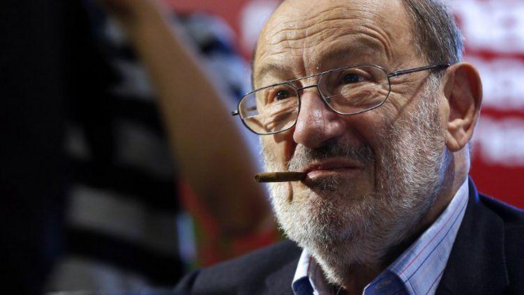 Umberto Eco à Paris en mai 2015  (François Guillot / AFP)