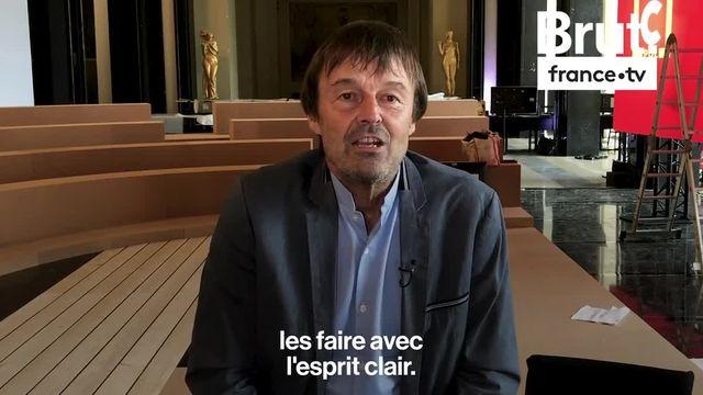 """Nicolas Hulot était dans """"l'Émission pour la Terre"""" diffusée le mardi 15 octobre sur France 2. Voici son message."""