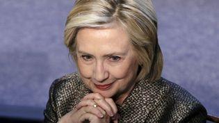 Hillary Clinton,candidate à l'investiture démocrate pour l'élection présidentielle américaine de 2016, le 22 avril 2015, à Washington. (GARY CAMERON / REUTERS)