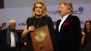Catherine Deneuve et Roman Polanski à Lyon le 14 octobre 2016  (Jean-François Lixon)