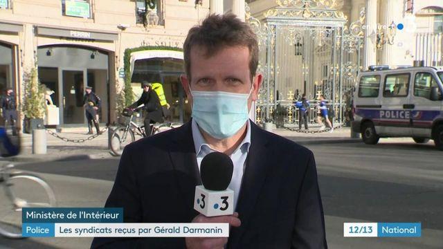 Police : Gérald Darmanin a reçu les syndicats