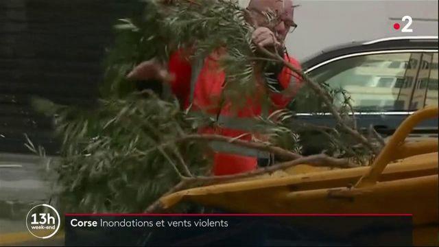 Tempête Fabien : inondations et vents violents en Corse