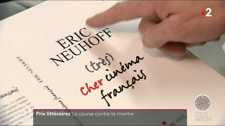 Le livre lauréat du Renaudot catégorie essais (France 2)