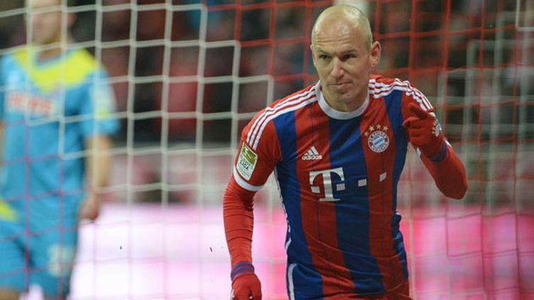 Le joueur du Bayern Munich, Arjen Robben
