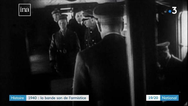 Seconde Guerre mondiale : la bande son de l'armistice de 1940 retrouvée