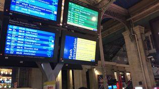 Gare du Nord, le 3 avril 2018. (FRANCEINFO / RADIOFRANCE)