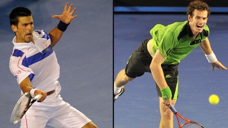 Djokovic face à Murray