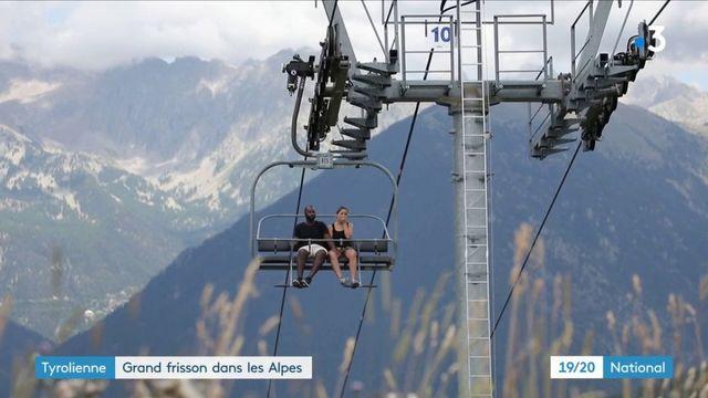 Alpes-Maritimes : à la découverte de la plus grande tyrolienne d'Europe
