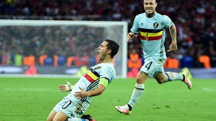 Eden Hazard (Belgique).  (EMMANUEL DUNAND / AFP)