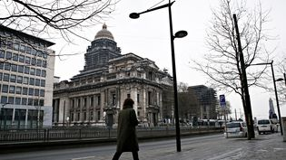 Le palais de justice de Bruxelles (Belgique), le 3 février 2018. (ALEXANDROS MICHAILIDIS / SOOC)