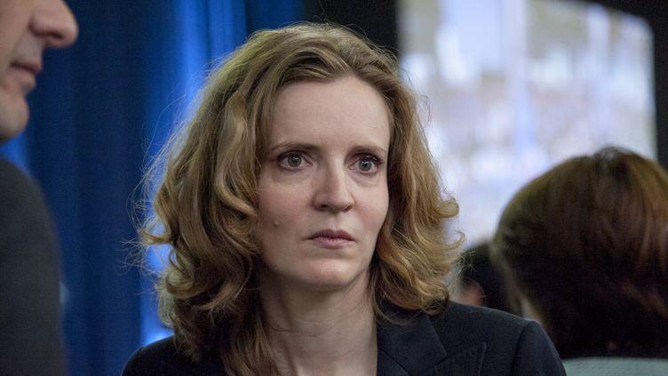 Nathalie Kosciusko-Morizet à Paris, le 30 mai 2015. (CITIZENSIDE / YANN KORBI / CITIZENSIDE.COM / AFP)