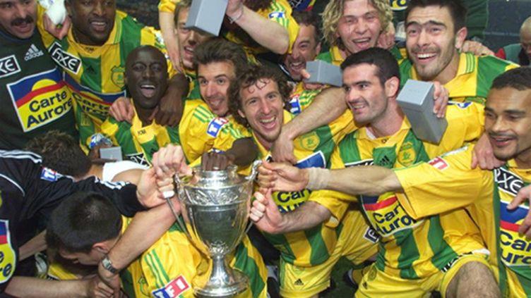 Le FC Nantes vainqueur de la Coupe de France 1999