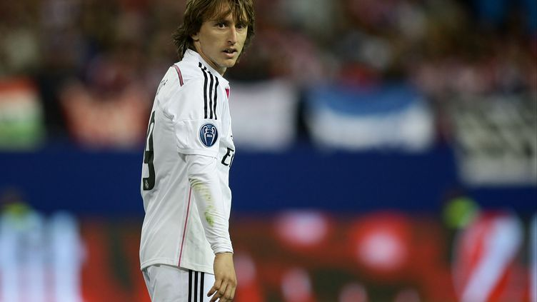 Le joueur du Real Madrid, Luka Modric (BACKPAGE IMAGES / BACKPAGE IMAGES LTD)