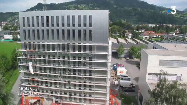VIDEO. Autriche : une tour écologique en bois construite en seulement huit jours