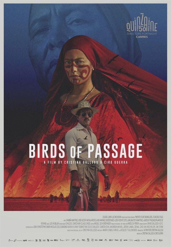 """Affiche de """"Les oiseaux de passage""""  (DR)"""