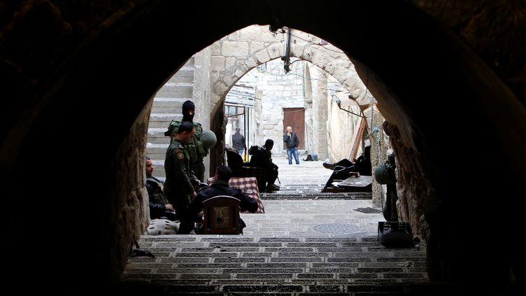 Une rue de Naplouse, en Cisjordanie, en 2016. (ABED OMAR QUSINI / REUTERS)