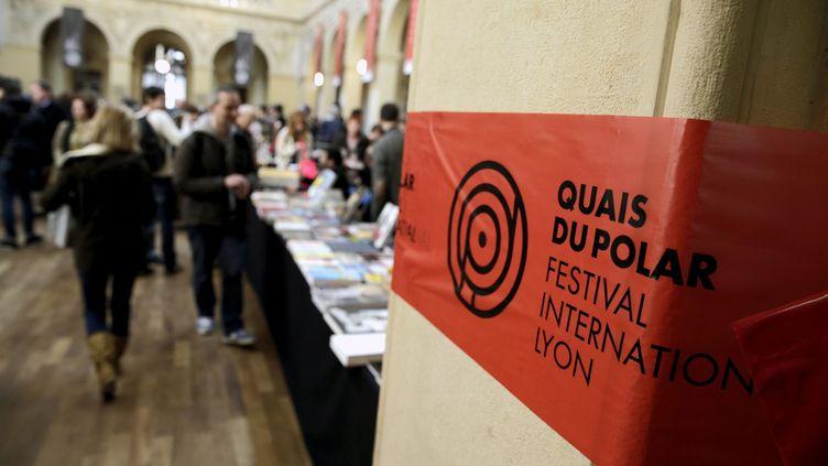 Le festival Quai du polar à Lyon en 2015. (JEGAT MAXIME / MAXPPP)