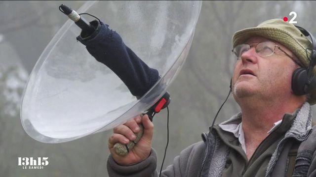 VIDEO. L'audio-naturaliste chasseur de sons Fernand Deroussen enregistre la vie sauvage pour faire prendre conscience de sa fragilité