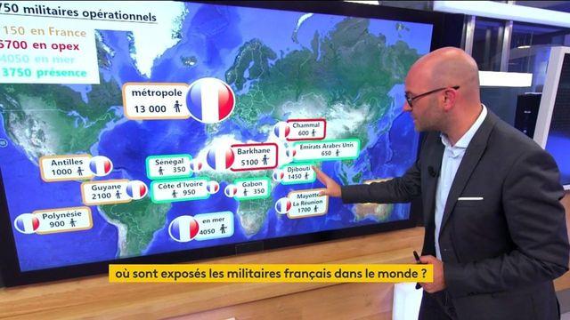 Lutte contre le terrorisme : où sont situés les militaires français dans le monde ?