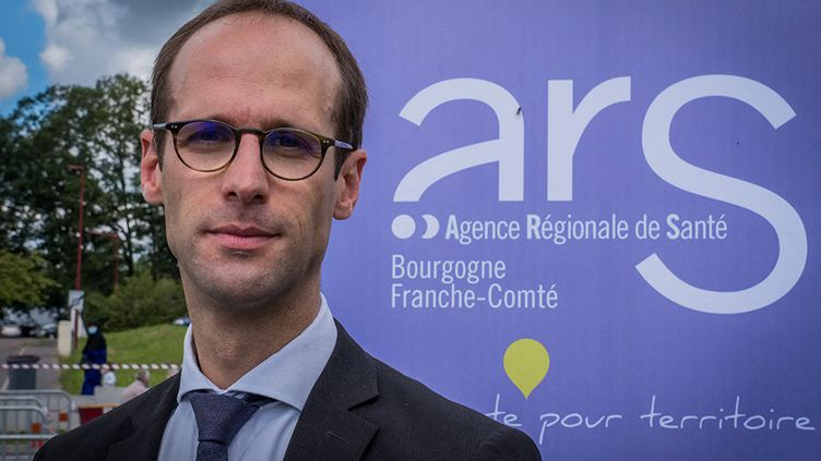 Pierre Pribile, directeur général de l'Agence régionale de Santé en Bourgogne-Franche-Comté, 19 juin 2019. (JEAN-FRANCOIS FERNANDEZ / RADIOFRANCE)