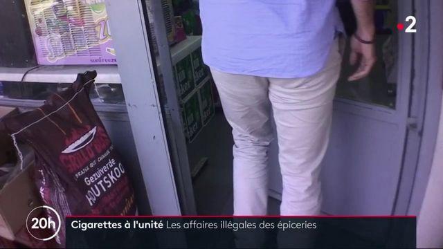 Cigarettes à l'unité : les affaires illégales des épiceries