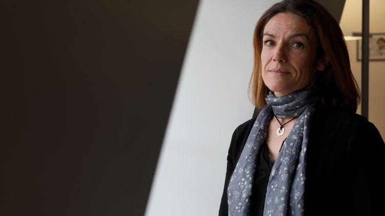 La présidente de la Commission nationale du débat public Chantal Jouanno, le 19 décembre 2018 à Paris. (MAXPPP)