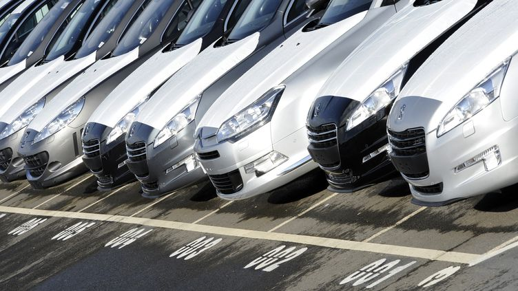 Les immatriculations de voitures neuves dans l'Hexagone ont baissé de 5,7% en données brutes en 2013, à 1,79 million d'unités. (DAMIEN MEYER / AFP)