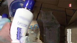 Des produits de cosmétique contrefaits saisis en Seine-et-Marne (FRANCE 2)