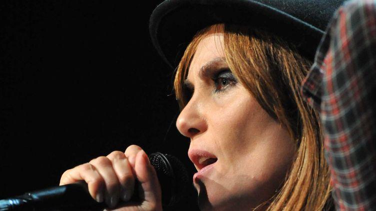 Emmanuelle Seigner ici en concert  (Sipa presse)