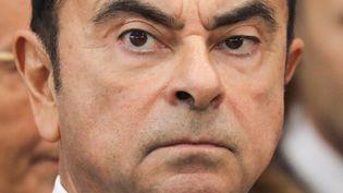 Carlos Ghosn, à Maubeuge, le 8 novembre 2018. (LUDOVIC MARIN / AFP)