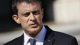Le Premier ministre Manuel Valls, le 15 juillet 2016 au palais de l'Elysée, à Paris. (THOMAS SAMSON / AFP)