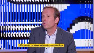 Frédéric Sève (CFDT) (FRANCEINFO)