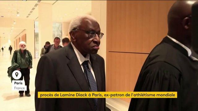 Athlétisme : Lamine Diack jugé pour corruption à Paris