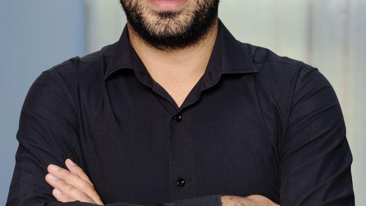Le journaliste Nabil Wakim en août 2011 à Paris.  (MIGUEL MEDINA / AFP)