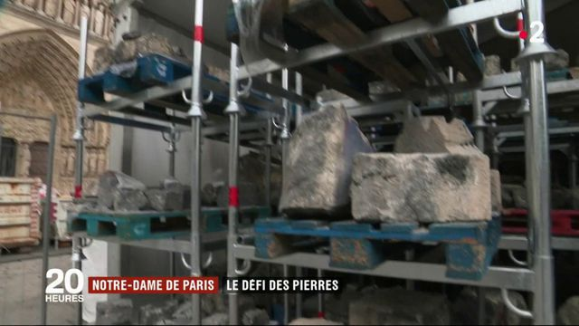 Notre-Dame : y aura-t-il assez de pierres pour reconstruire ?