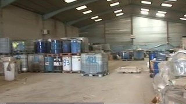 Seine-et-Marne : les déchets dangereux évacués d'un hangar