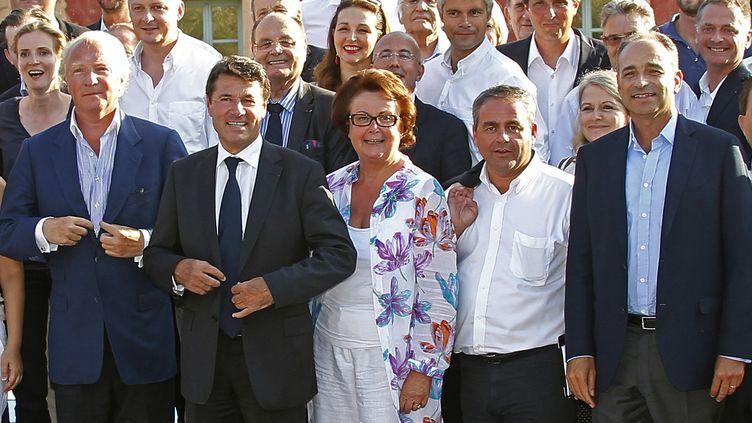 De nombreux responsables de l'UMP ont participé à la réunion des Amis de Nicolas Sarkozy, les 24 et 25 août à Nice. (ERIC GAILLARD / REUTERS)