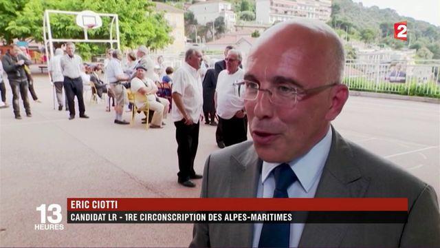 Législatives : Éric Ciotti en terrain conquis dans son fief des Alpes-Maritimes ?