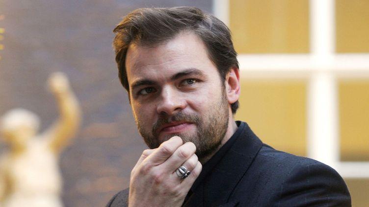 """Clovis Cornillac reprend le rôle de Jacques Villeret dans """"La contrebasse"""".  (AFP)"""