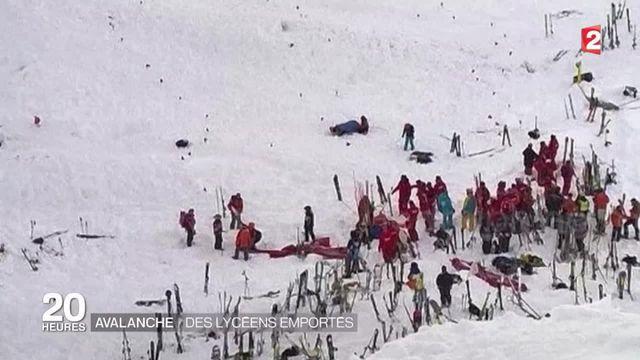 Isère : des élèves lyonnais emportés par une coulée de neige aux Deux-Alpes