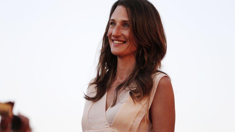 Camille Cottin était l'invitée de la Mise à Jour sur franceinfo. (CHARLY TRIBALLEAU / AFP)