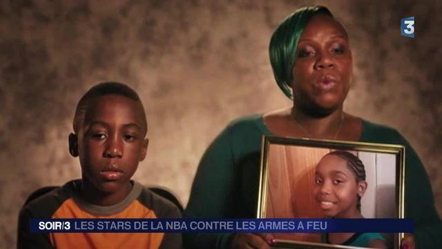 Les stars de la NBA s'engagent contre les armes à feu