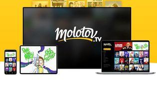 La page d'accueil de la plateforme Molotov (CAPTURE D'ECRAN) (CAPTURE D'ECRAN MOLOTOV)