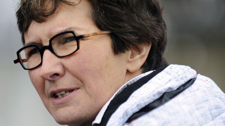 La ministre des Sports, Valérie Fourneyron, le 27 janvier 2013 aux Sables-d'Olonne (Vendée). (JEAN-SEBASTIEN EVRARD / AFP)
