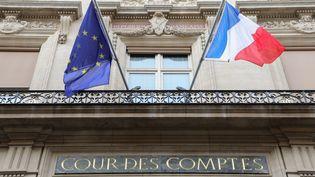 La façade de la Cour des comptes, le 22 janvier 2018, à Paris. (LUDOVIC MARIN / AFP)