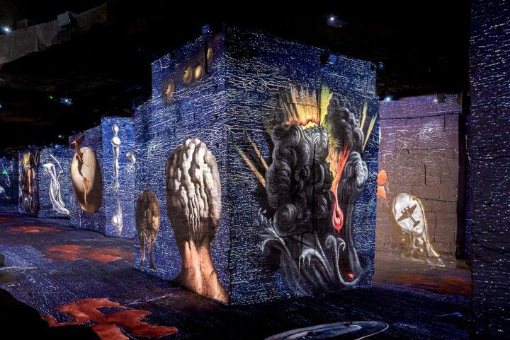 L'imaginaire Dali (Salvador Dalí, Fundació Gala-Salvador Dalí, ADAGP 2020  © Culturespaces / E. Spiller)
