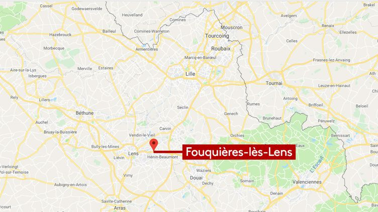Fouquière-lès-Lens (RADIO FRANCE / FRANCEINFO / GOOGLE MAP)
