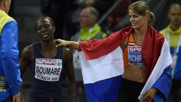 Myriam Soumaré ajoute une médaille de bronze à sa collection