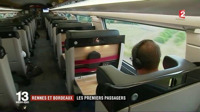 LGV : premiers passagers pour les nouvelles lignes