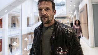 L'acteur Mathieu Kassovitz au Palais de Justice de Paris, le 23 mai 2019. (KENZO TRIBOUILLARD / AFP)